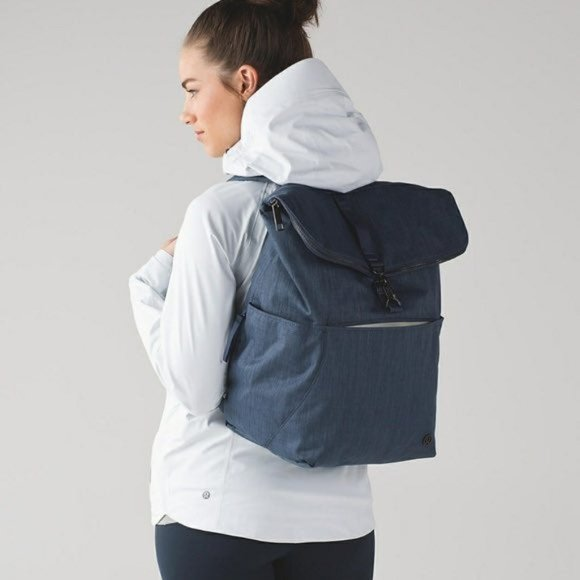 NWT Rise and Shine Backpack in Astro Blue